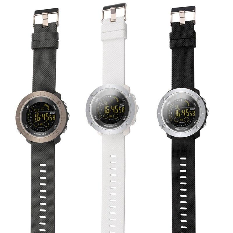 SOONHUA EX36 Bluetooth 4.0 étanche IOS Android montre intelligente podomètre réveil montre-bracelet chronomètre Sport montre intelligente