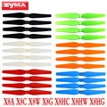 Syma X8 X8C X8W X8G Drone Propeller Spare Parts RC Quadcopter Main Blade Props For X8HC X8HG X8HW Helicopter Accessories Fan