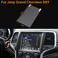 Car Styling 8.4 Inch GPS Navigation Screen Steel Protective Film For Jeep Grand Cherokee SRT Control of LCD Screen Car Sticker