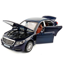 Licensierad Alloy Modell Lyxbilar 1/32 Fordonsmodell Car Collection & Toy Car W / Light & Music