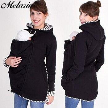 295af2879 Melario maternidad abrigos chaqueta de invierno para las mujeres  embarazadas ropa de manga larga traer niños trajes ropa chaquetas