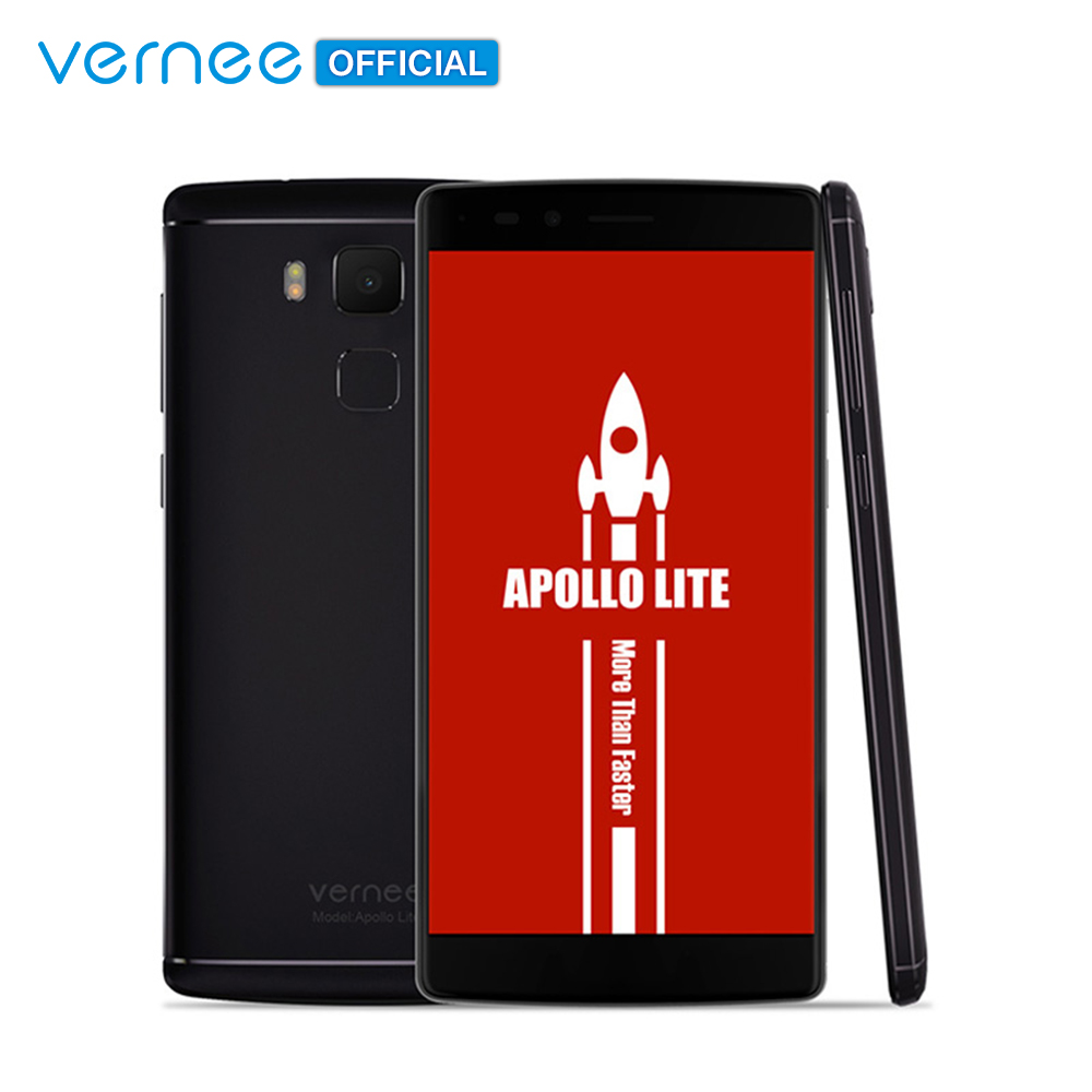"""vernee Apollo Lite 5.5"""" FHD Mobile Phone Helio X20 Deca-Core Android 6.0 Cell phones 16MP CAM 4G RAM 32G ROM Type-C Smartphone"""