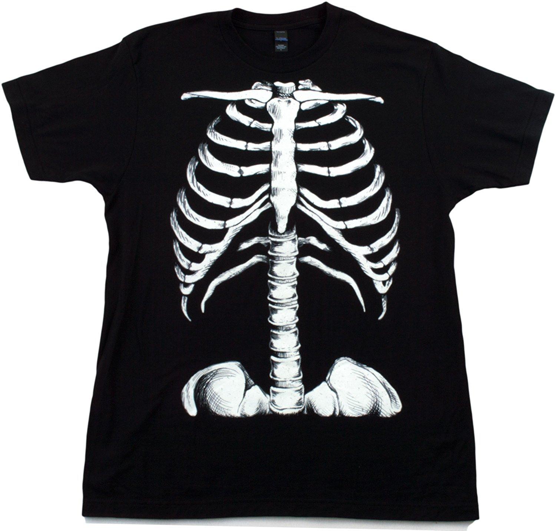 Skeleton Rib Cage | Jumbo Print Novelty Halloween Costume ...