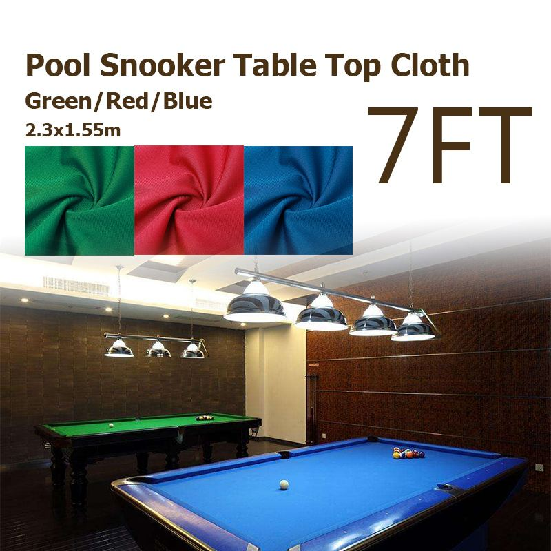 2.3x1.55m  Green/Red/Blue Cloth For 7ft Billiards Snooker Mahjong Pool Table For American billiards Snooker Accessories2.3x1.55m  Green/Red/Blue Cloth For 7ft Billiards Snooker Mahjong Pool Table For American billiards Snooker Accessories