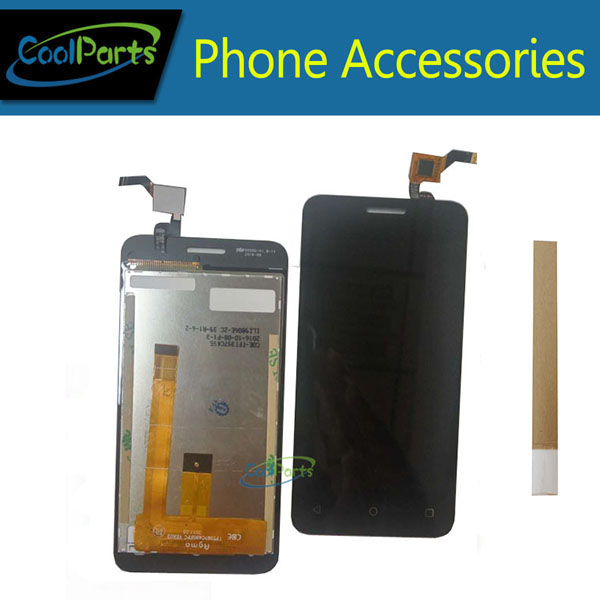 1PC/Lot High Quality For Fly Stratus 6 FS407 Lcd Display Screen And Touch Screen Digitizer Replacement Part With Tape1PC/Lot High Quality For Fly Stratus 6 FS407 Lcd Display Screen And Touch Screen Digitizer Replacement Part With Tape