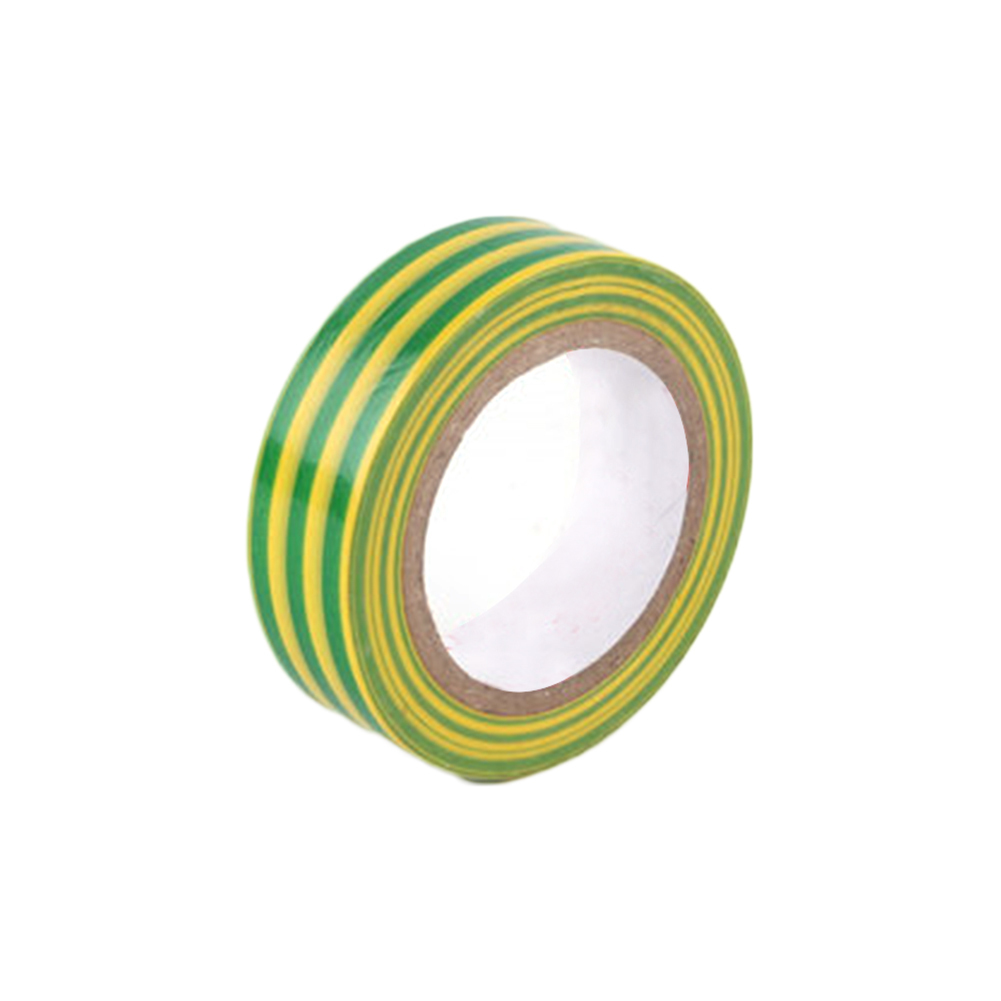 Ground Wire Mark Adhesive Tape Electric Rubber PVC Yellow Green ...