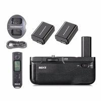Майке mk-a6500 Pro майке Батарейная ручка держатель удобная упаковка Дистанционное управление для Sony A6500 Аккумуляторы вертикальной Стрельба