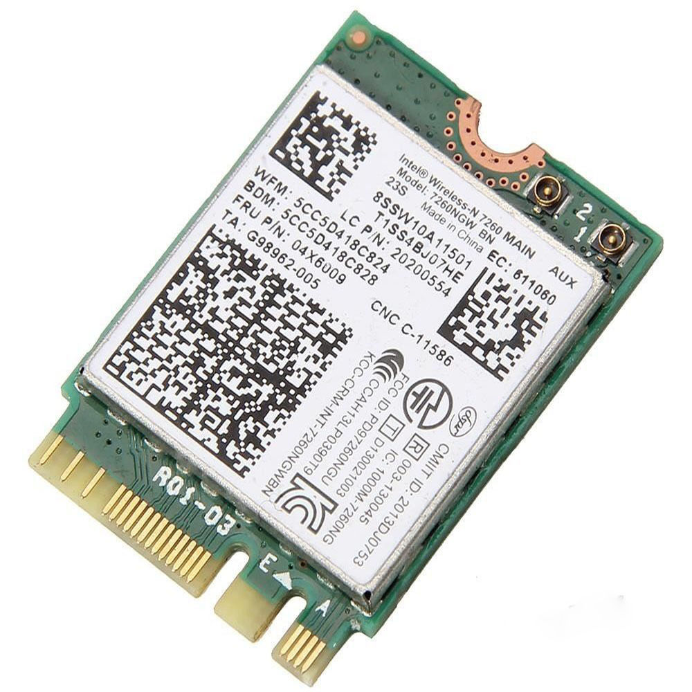 Adapter-Card T440 X240s Wifi Lenovo Intel 7260NGW Ibm Wireless-N for 300M NGFF 04X6009 title=