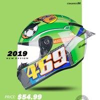 Special offer Full face Helmet for motorcycle racing helmet motocross helmet DOT casco de moto full kask capacetes