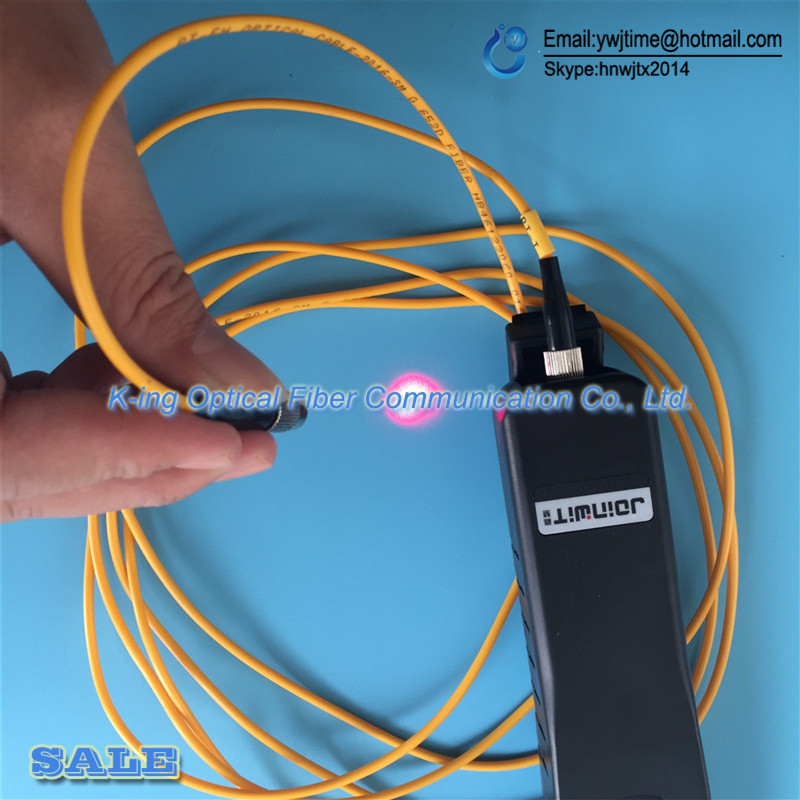 Livraison gratuite identificateur de Fiber optique JW3306D identificateur de Fiber optique en direct avec localisateur de défaut visuel 10 mw intégré - 5