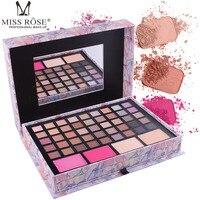 MISS ROSE Pink Handmade Cosmetic Set Box makeup eyeshadow palette nude eyeshadow palette Natural Long lasting