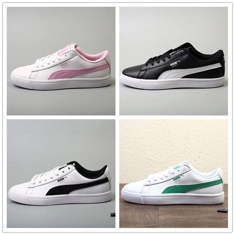 2018 Original BTS x Puma Collaboration Court Star Korea woman's Cadet shoes men's Sneakers Badminton Shoes Size36-44