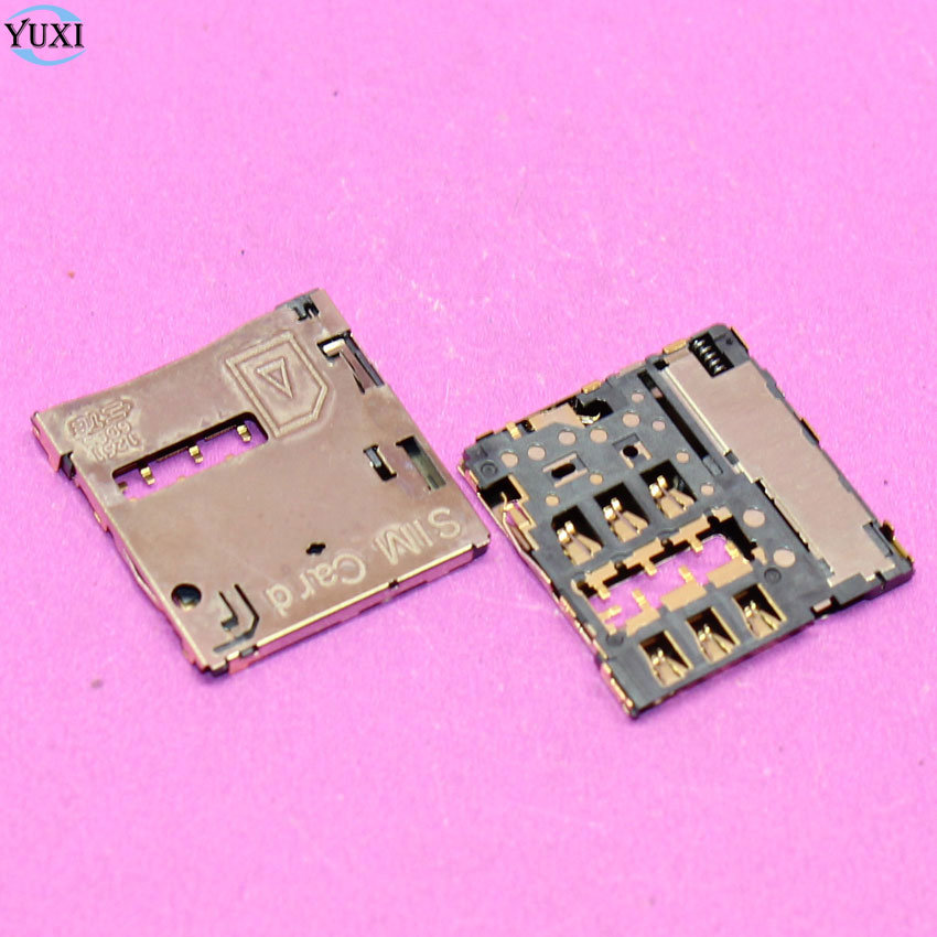 YuXi 2pcs For Samsung Galaxy S3 i9300 S4 i9500 i9505 Note 2 N7100 N7102 N7105 SIM Card Tray Slot Holder Socket Connector