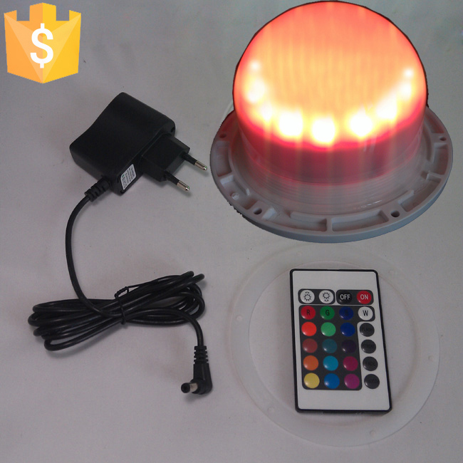 120mm Direct Charging Waterproof Ip65 Remote Control Glow In The Dark Light Used For Led Furniture Led Ball Cubes Light 10pcs