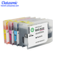 Dat full ink with chip for HP 932 XL 933 refill ink cartridge for Hp6100 6600 6700 7110 7612 7610