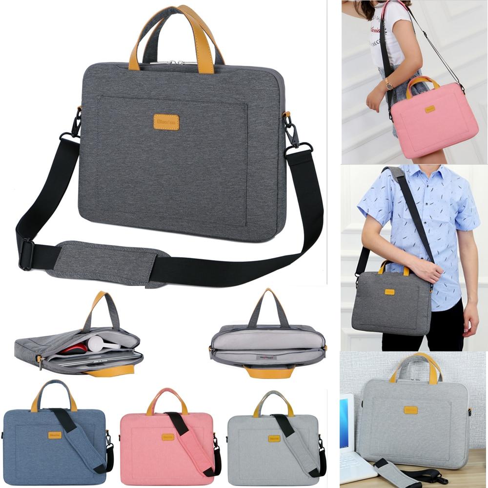 Men Women 13 14 15.6 Inch Handbag Messenger Shoulder Notebook Laptop Bag Sleeve Case For Xiaomi Macbook Air Pro Acer Lenovo Dell