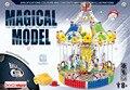 Comandante hierro modelo a escala aleación sueño montaje Merry go round caja de metales ensamblaje kits de construcción juguetes educativos