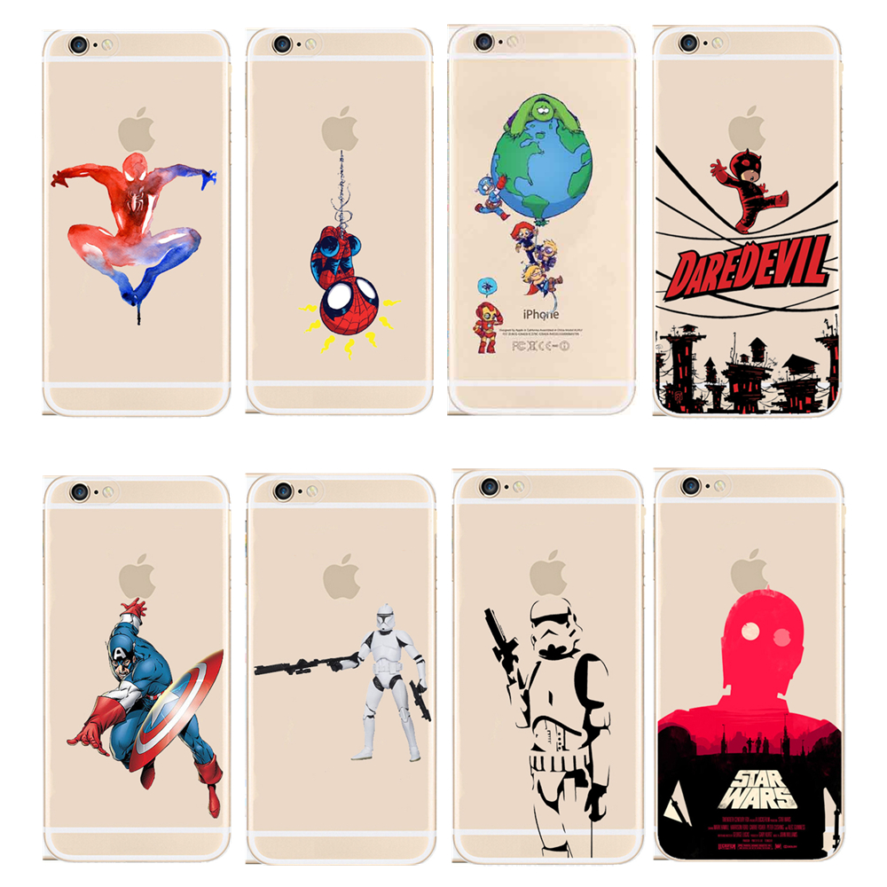 cover iphone 7 marvel