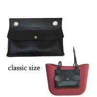 1 Pcs PU Leather Pocket Lining Insert Free Shipping For Classic Size For O Big Handbag