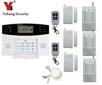 Yobang Security GSM Alarm System With SMS Call Alarm GSM Alarma English Russian Wireless Door Sensor PIR Infrared Motion Alarm