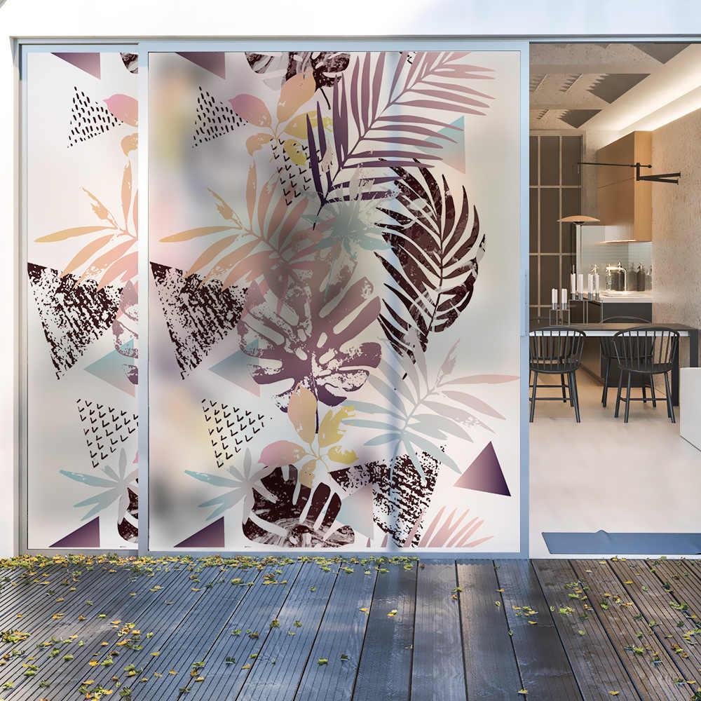 Vetro smerigliato static sticker finestra Polietilene film Opaco di protezione della privacy finestra adesivi Complementi Arredo Casa