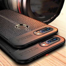 case For Xiaomi mi 8 lite Case Soft TPU Leather Bumper Cover
