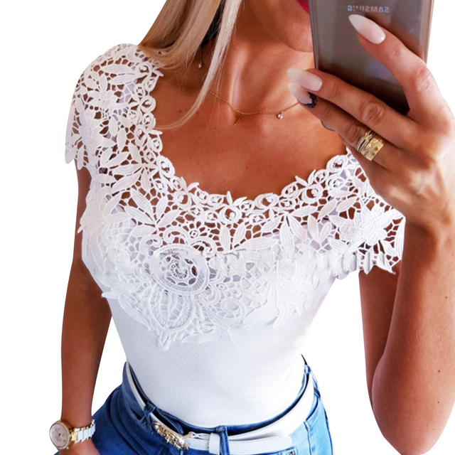 Summer Clothing Lace Hollow...