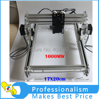 17X20cm 1000MW Large Area Mini DIY Laser Engraving Engraver Machine DIY Marking Machine DIY Laser Printer
