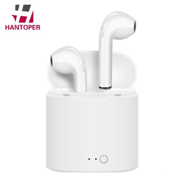 fb79744f116 Mini Bluetooth Earphone Headphones For Apple iPhone X XS Wireless Headphone  Headset Earphones Phone for Air Pods in Ear Earbuds