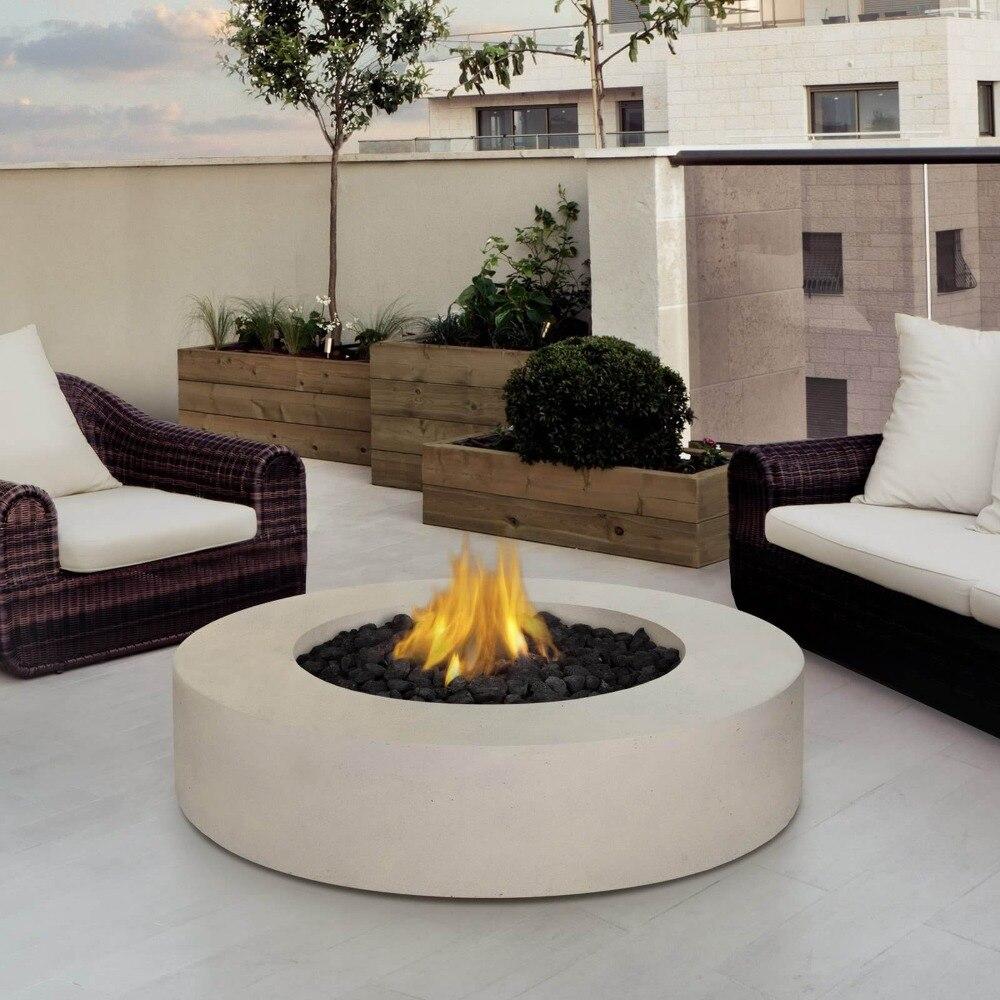 popular outdoor electric fireplacebuy cheap outdoor electric  - on sale decorative electric fireplaces ethanol outdoor round  inch diablack stainless steel lareira chimenea