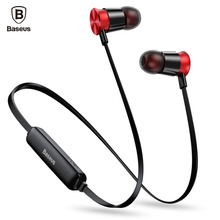 10c136e4ee1b82 Baseus S07 Bluetooth Earphone For Phone Sports Wireless Headphone With Mic  Stereo