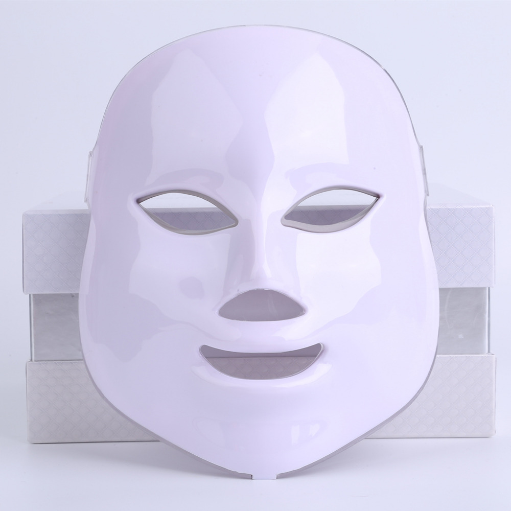 1 set LED Facial Mask Home Use Beauty Instrument Anti acne Skin Rejuvenation LED Photodynamic Beauty Face Mask hot hot sale safety home use electric potential therapeutic instrument beauty