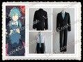 Dramático asesinato DMMd Seragaki Aoba negro traje de Cosplay cualquie tamaño