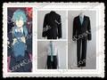 Dramatical Murder DMMd Seragaki Aoba terno preto Cosplay qualquer tamanho