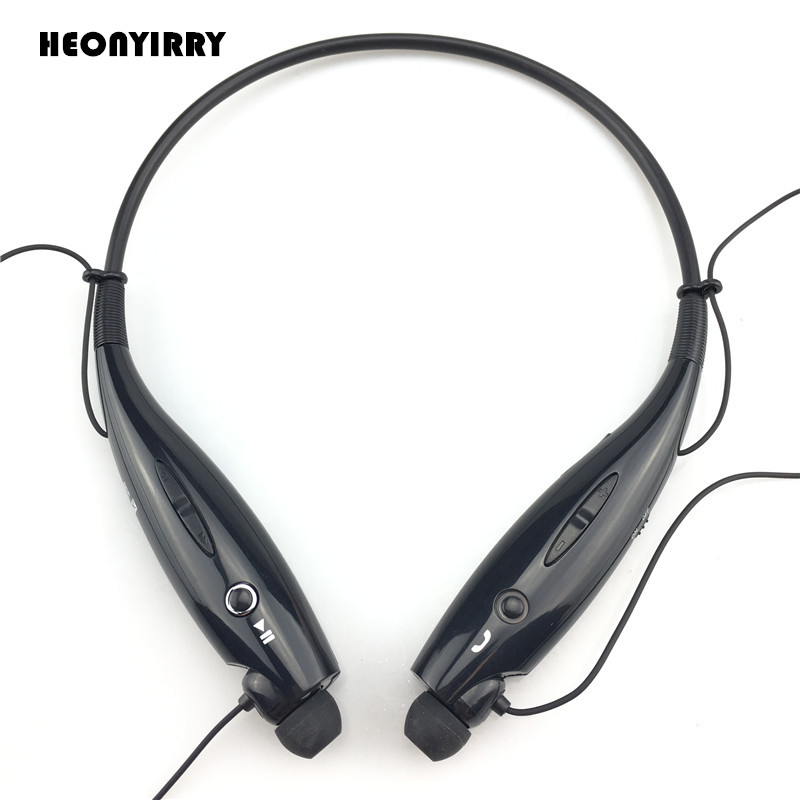 NEW HBS-730 Bluetooth Earphone Wireless Headphones Hands Free Sports Neckband Headsets Audifonos Bluetooth for Mobile Phone mpow wireless bluetooth v4 1stereo headphones in ear crystal sound light neckband headphones earphone hands free calling