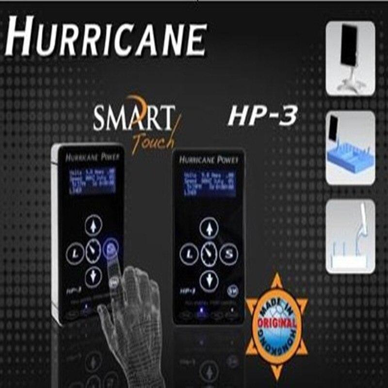 Commande intelligente ouragan tatouage alimentation numérique double affichage LCD alimentation pour tatouage machine pistolet tatouage livraison gratuite
