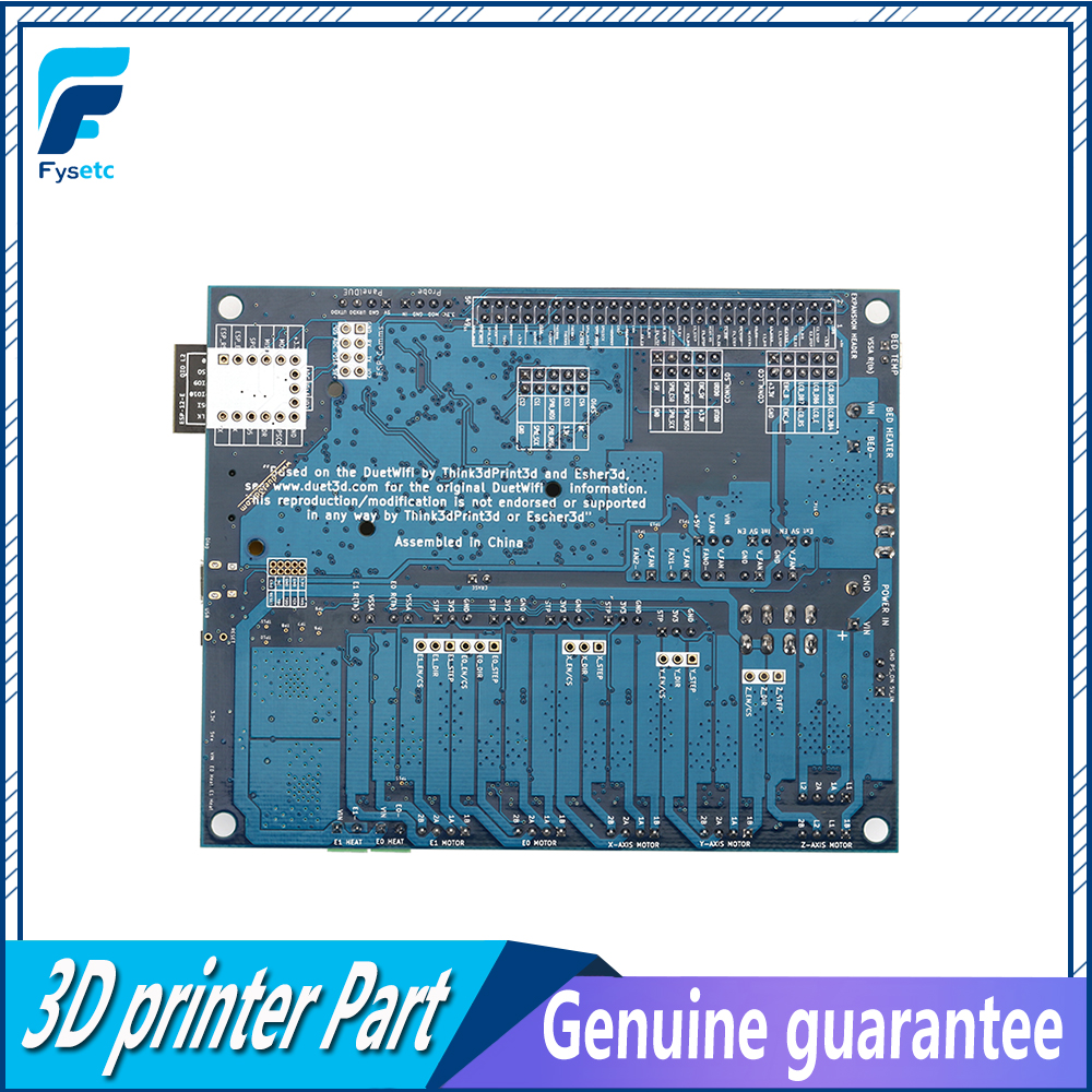 Image 5 - Latest Cloned Duet 2 Wifi V1.04  DuetWifi Advanced 32bit Motherboard Upgrades Controller Board For 3D Printer CNC BLV MGN Cube-in 3D Printer Parts & Accessories from Computer & Office