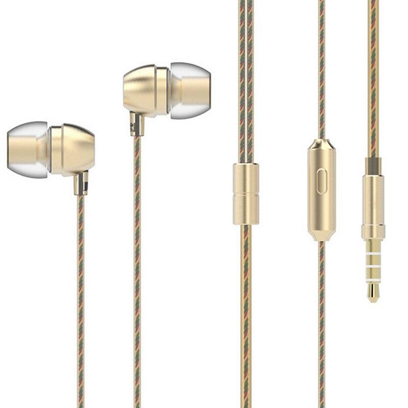 HM7 Cuffie Super Bass Auricolari Stereo Sport auricolare Con Microfono auricolare del Metallo 3.5mm per Xiaomi pistone auricolare