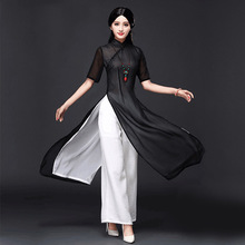 2017 summer vietnam ao dai chinese traditional dress chinese dress qipao long chinese cheongsam dress robe chinoise modern cheon