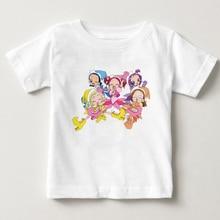 DoReMi/футболки с короткими рукавами для девочек; Детские хлопковые футболки; Новинка года; чистый хлопок; летняя детская футболка; футболка