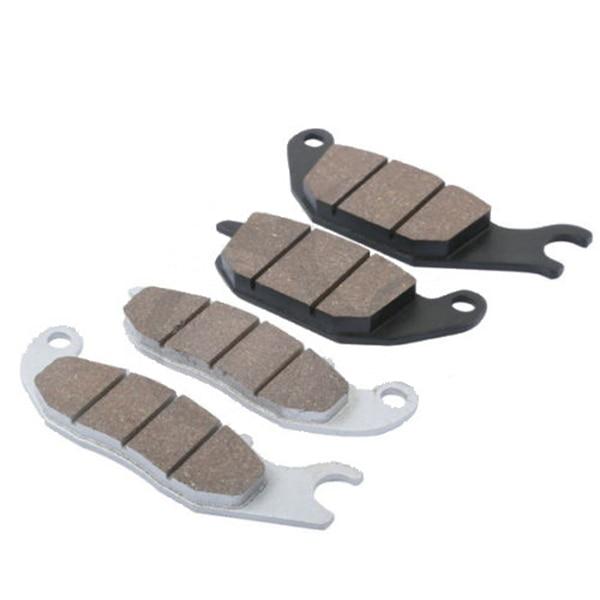 Motorcycle Sintered Front Rear Brake Pads For Honda CBR125 CBR 125 2004 - 2013 2005 2006 2007 2008 2009 2010 sintered brake pad set for honda 1000 xl a4 va4 9 varadero xl1000 2004 2005 2006 2007 2008 2009 2010 2011