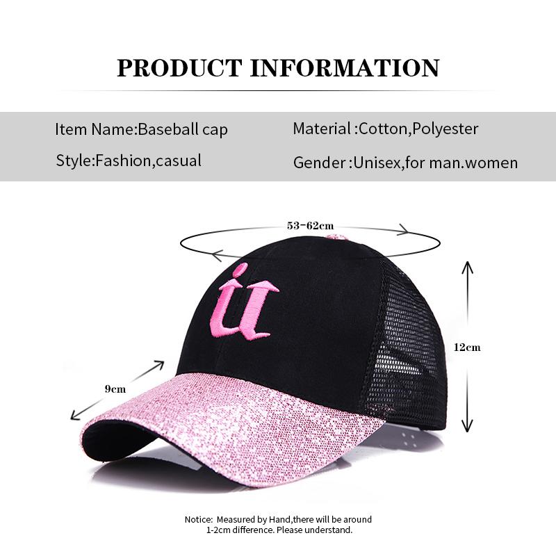 Gorras de béisbol Gorras de béisbol baratas 2018 nueva gorra de béisbol del  brillo de la palabra de U. Ofrecemos el mejor precio al por mayor d31cd7c31876