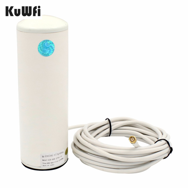 2.4Ghz 3G/4G LTE Antenna 10 12dBi External Wifi Antenna with 5m or 10m cable for 4G Router&Modem Signal Booster Antenna-in Communications Antennas from Cellphones & Telecommunications