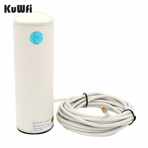 Image 1 - 2.4Ghz 3G/4G LTE Antenna 10 12dBi External Wifi Antenna with 5m or 10m cable for 4G Router&Modem Signal Booster Antenna