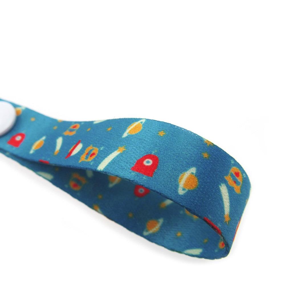 60 см* 1,5 см детская Нескользящая вешалка, держатель для ремня, игрушки, ремень для коляски, фиксированная Автомобильная цепочка для соски, высокое качество, для детских принадлежностей - Цвет: E
