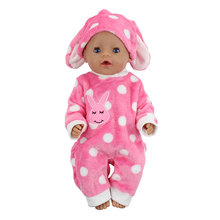 New Doll Jump Suits Fit For 43cm Zapf Baby Doll 17 Inch Reborn Baby Doll Clothes