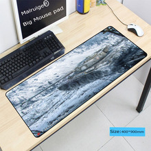 Mairuige Customized Support laptop Gaming Mouse pad 30X60 30X80 40X90CM Large Lock Edge Mousepads For World of Tanks LOL CSGO