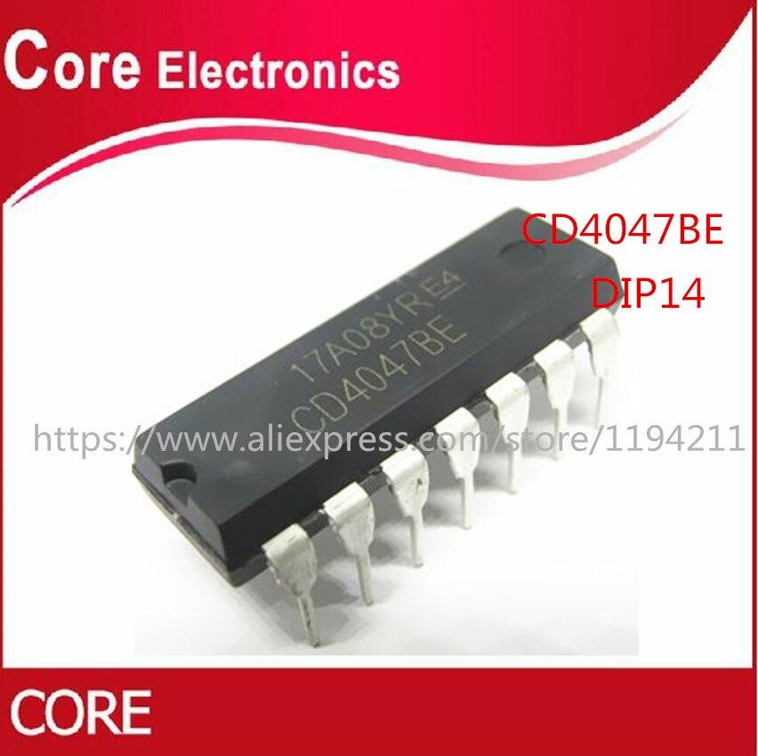 10Pcs CD4047BE CD4047 DIP14