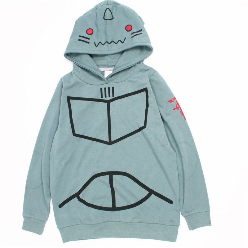 Fullmetal Alchemist - Alphonse Elric hoodie costume cosplay M L