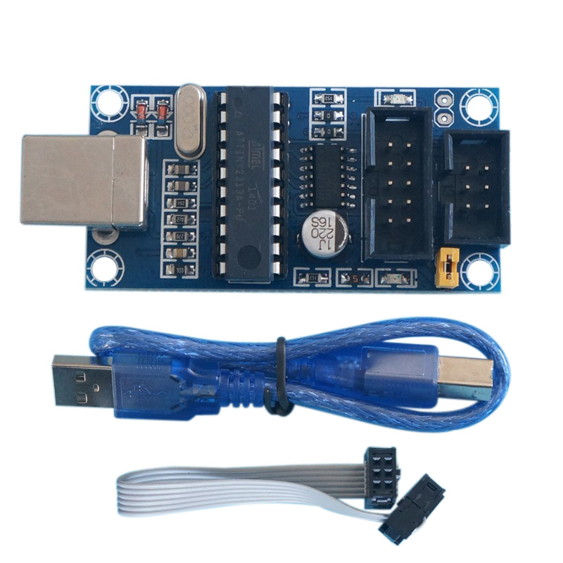 Hot Sale High Quality DIY USB tiny ISP AVR ISP Programmer for Arduino Bootloader Meag2560 Uno R3  HR hot sale digiprog iii v4 94 digiprog3 odometer correction tool digi pro 3 dp3 digiprog 3 mileage programmer full set